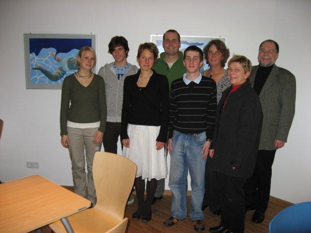 Die Mitglieder der Aqauarium AG